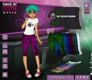 Check My Goth Style - ubieranka