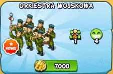 Przedmiot - Orkiestra Wojskowa