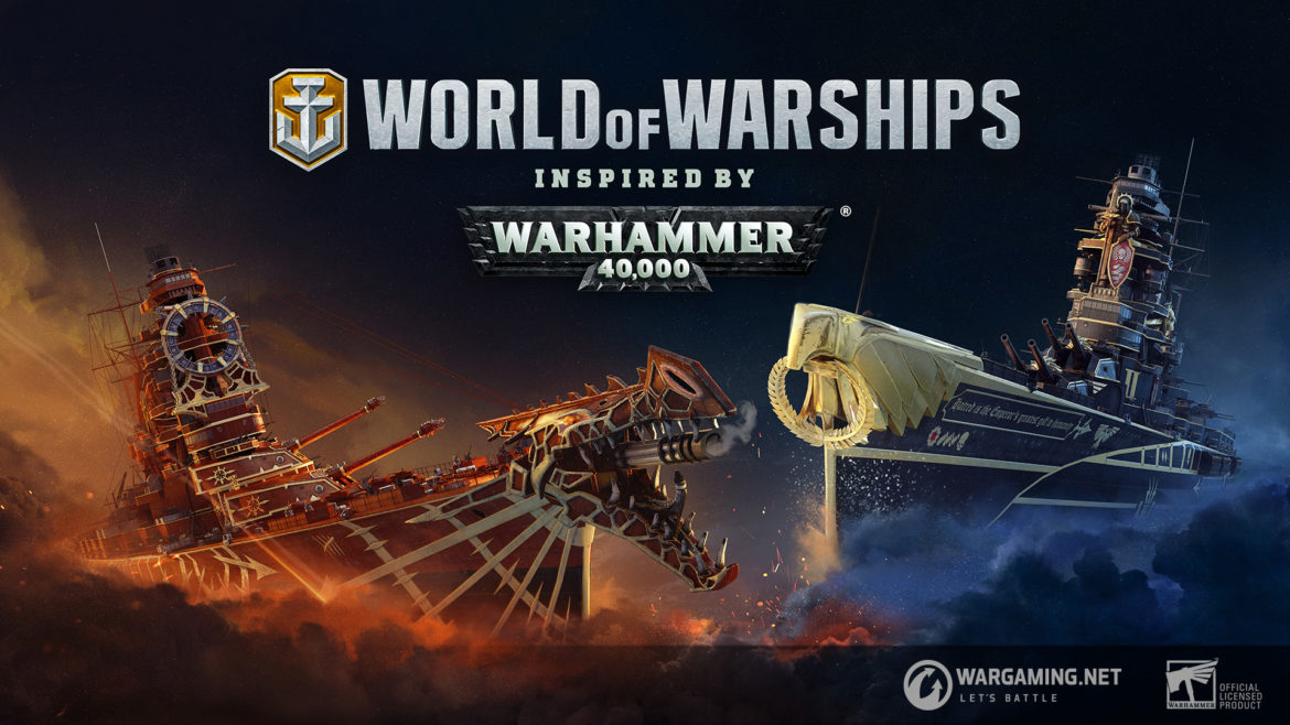 World of Warships w świecie WARHAMMER 40,000