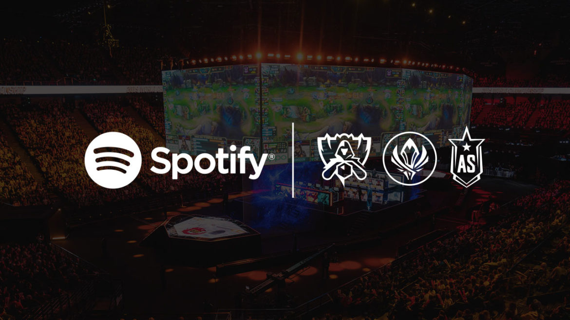 Spotify oficjalnym partnerem gry League of Legends